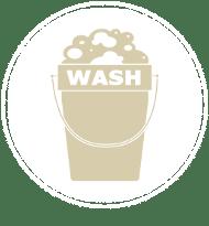 prélavage lavage